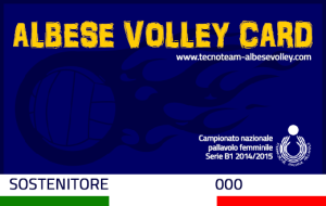 Albese Volley Card